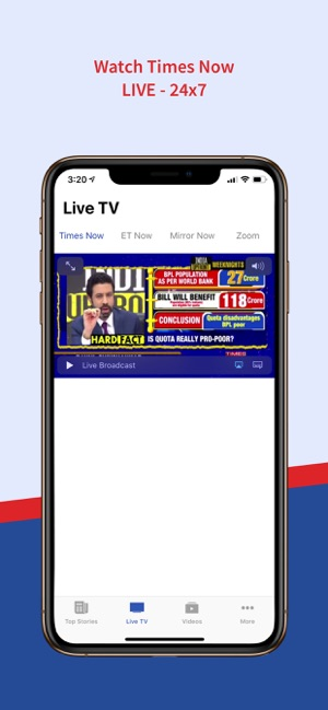 TimesNow - English, Hindi News on the App Store