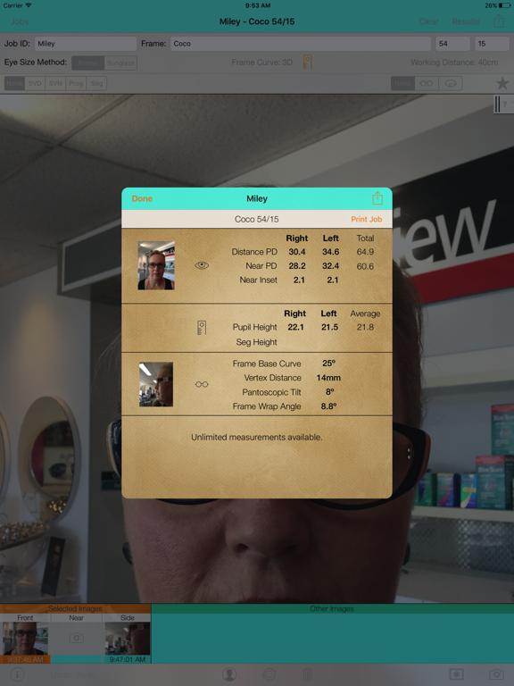 Optical Dispensing Assistant 2 screenshot two