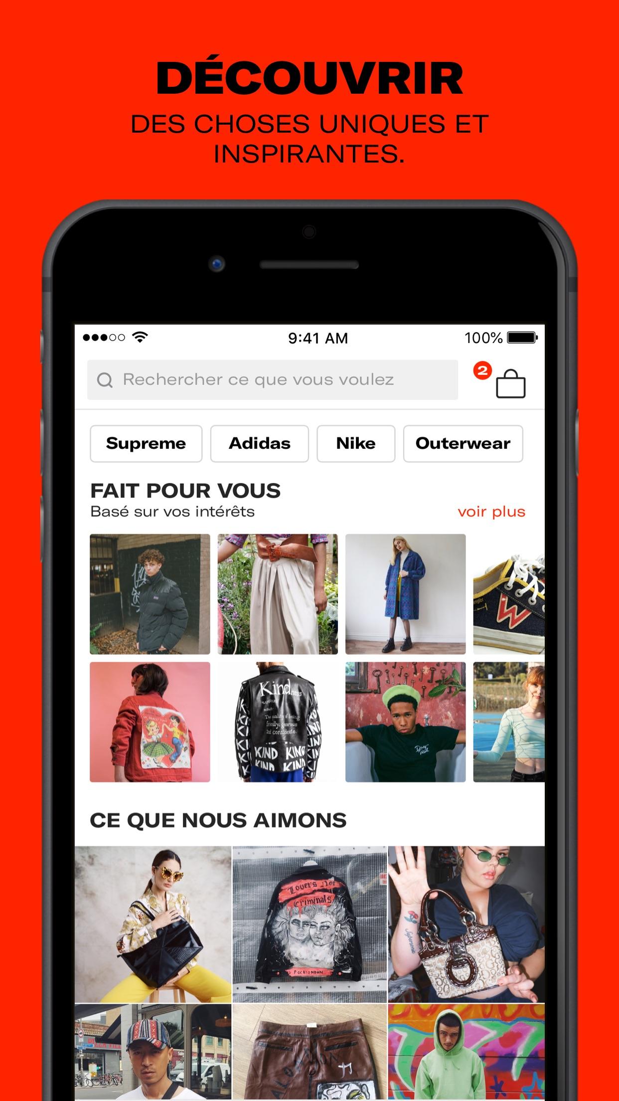 Depop - Streetwear et vintage Screenshot