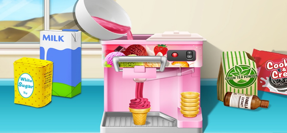Ice Cream: baby cooking games hack tool