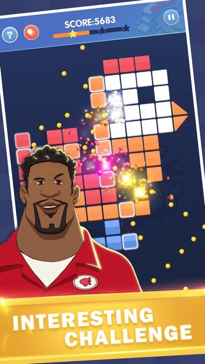 Brick Blaster - Ball Game screenshot-5