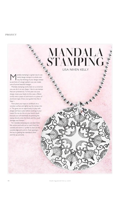 Screenshot for Making Jewellery Magazine in United States App Store