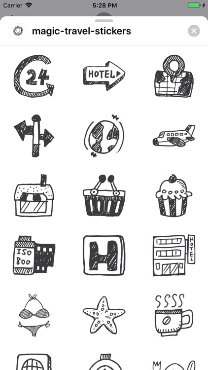 Magic Travel Stickers screenshot-8