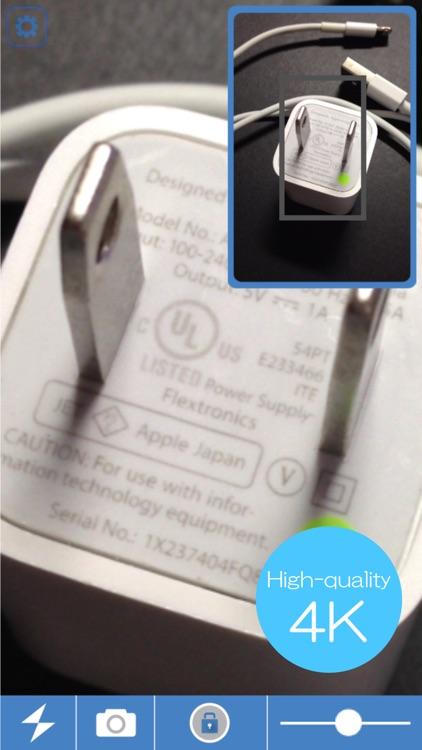 NextLoupe 4K  Magnifying glass