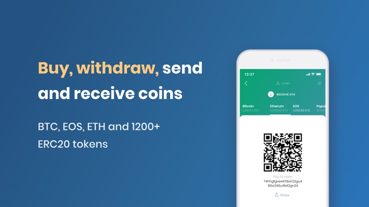 Lumi Crypto and Bitcoin Wallet