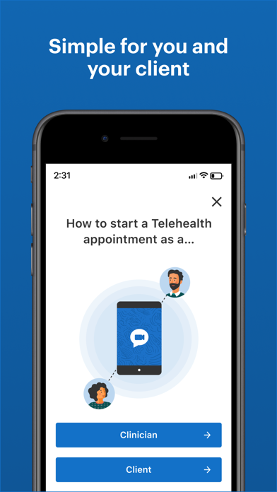 messages.download Telehealth by SimplePractice software