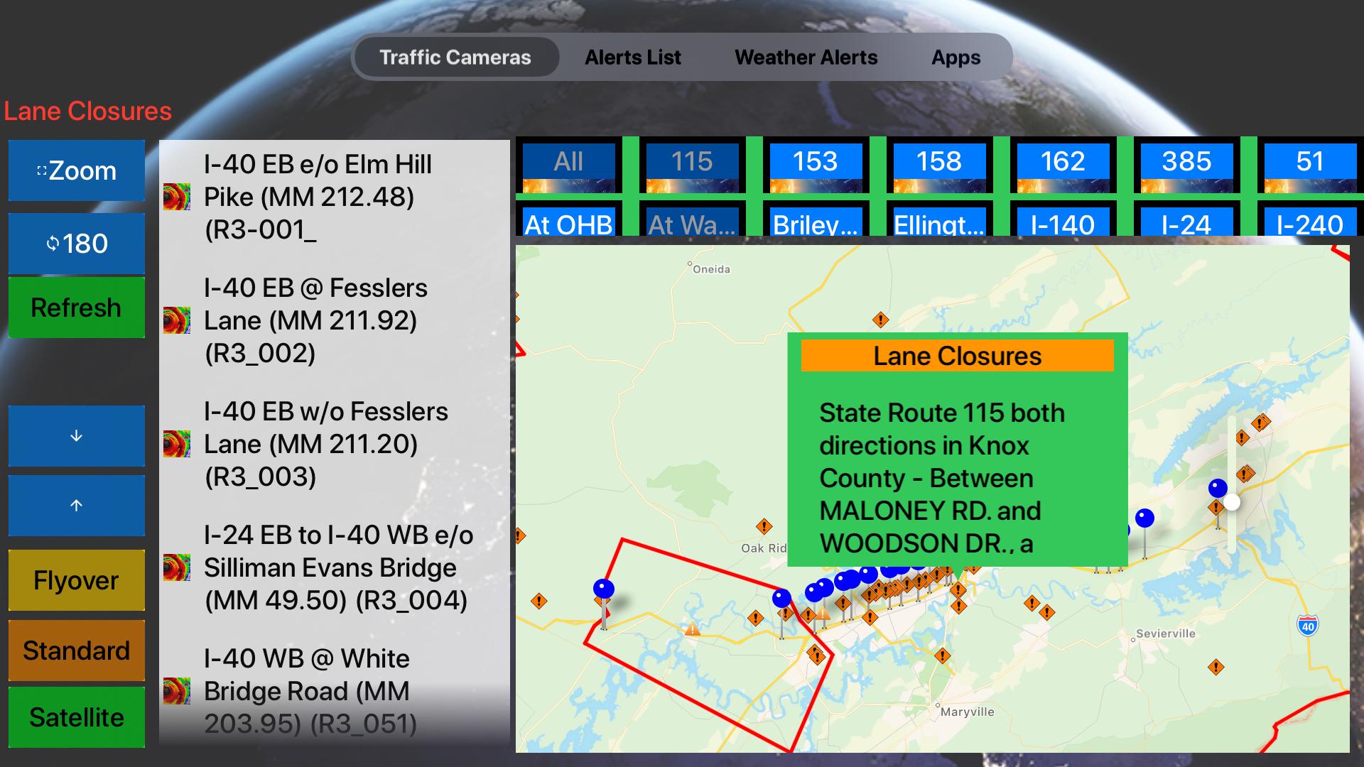 Traffic Cameras Tennessee Pro screenshot 23