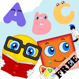 Shapes & Colors Toddler Preschool FREE -  All in 1 Educational Puzzle Games for Kids