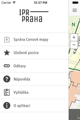 Cenová mapa Prahy - náhled