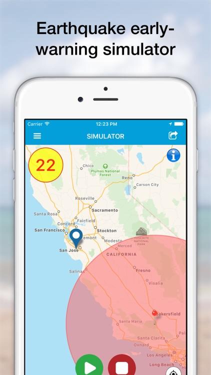 eQuake - Earthquake Alerts screenshot-3
