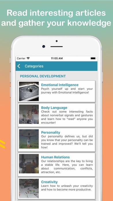 Emotional Intelligence screenshot two