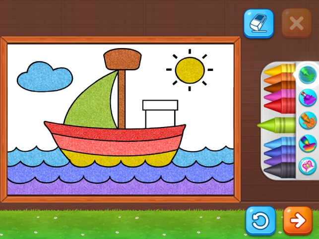 ‎Coloring Games: Painting, Glow Screenshot