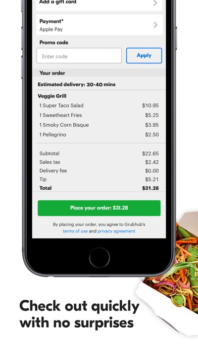 download Grubhub: Local Food Delivery apps 2