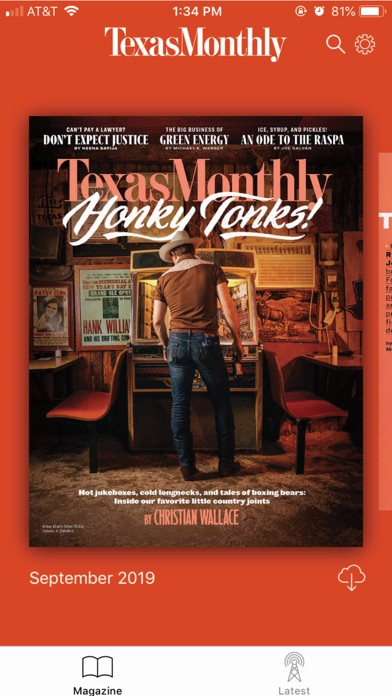 Texas Monthly review screenshots