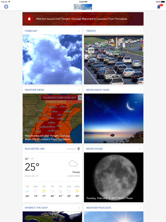 Local Weather: Radar, Severe Forecasts, News Alerts & Warnings screenshot