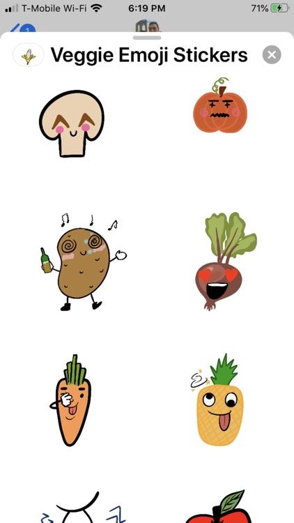 Veggies Stickers.NhiH screenshot-3