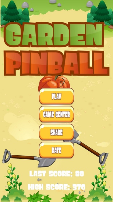 GARDEN PINBALL screenshot #1