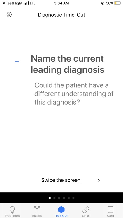 Diagnostic Time Out: BWH