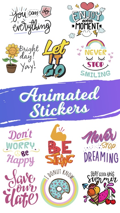 Quotes: Motivational Stickers