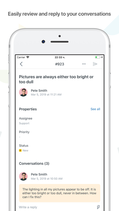 Zendesk Support by Zendesk (iOS, United States) - SearchMan