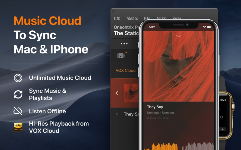 VOX: MP3 & FLAC Music Player | App Price Drops