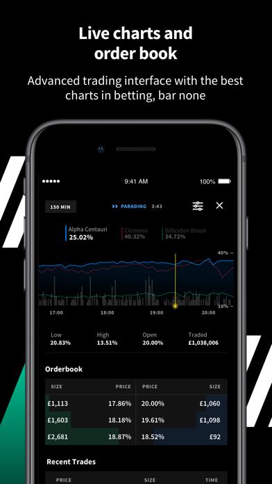 Smarkets Betting Exchange screenshot three