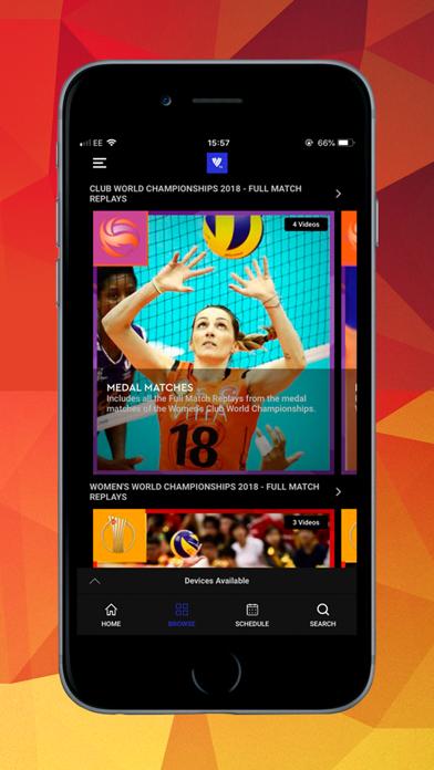 Volleyball TV screenshot three