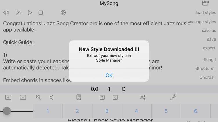 Jazz Song Creator Pro screenshot-3