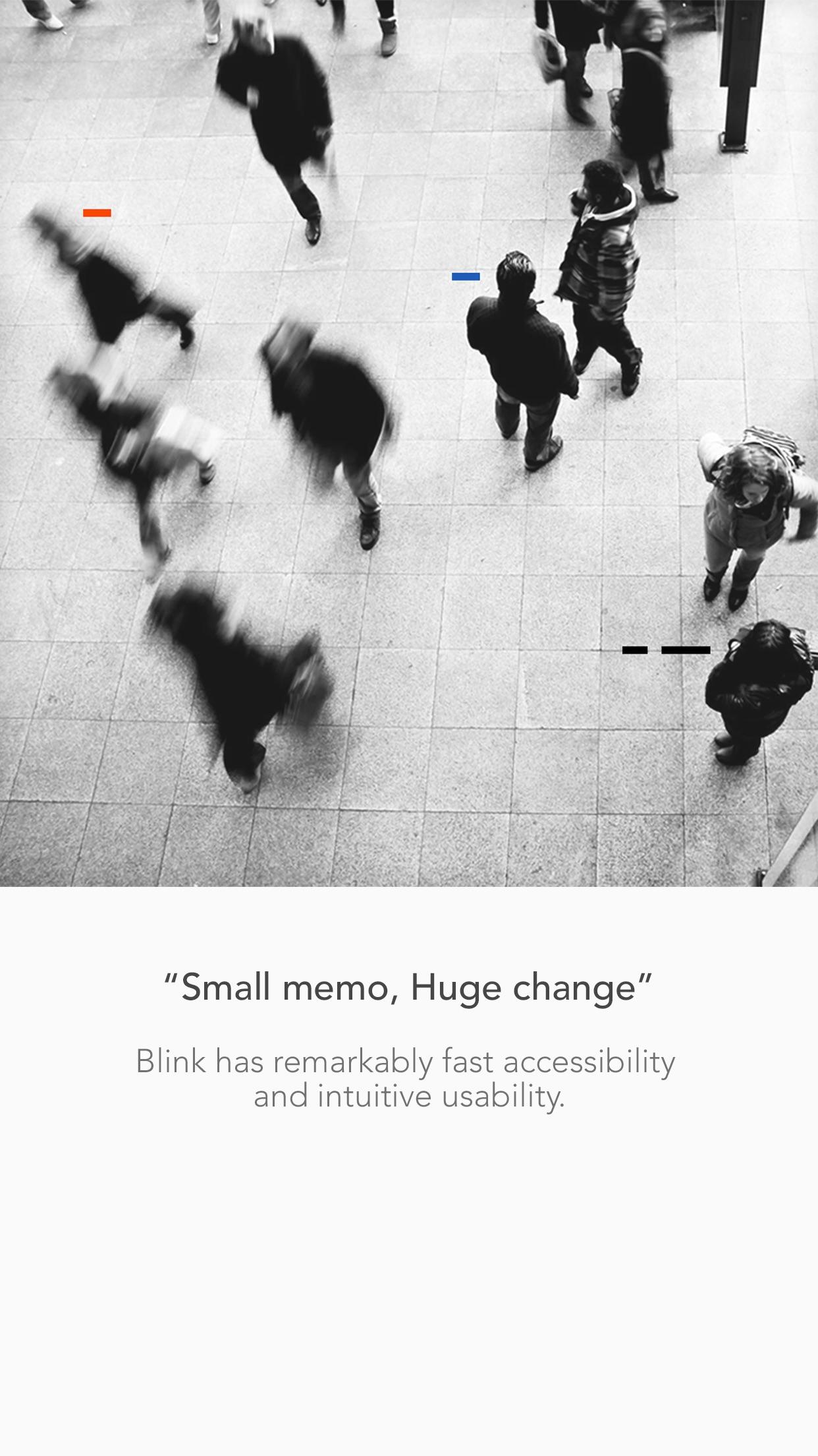Blink - Quick Memo Screenshot