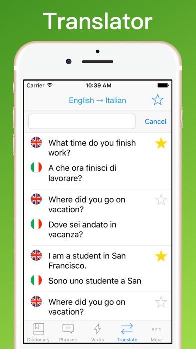Translator Italian: Italian Translator + App Data & Review
