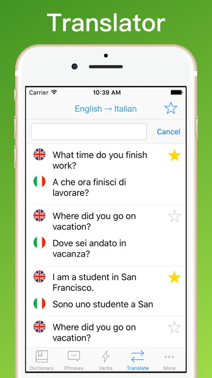 Italian Translator + screenshot-2