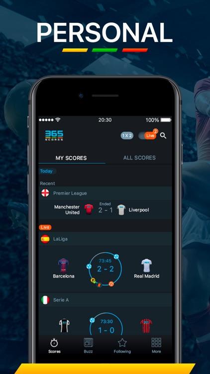 365Scores - Live Scores screenshot-0