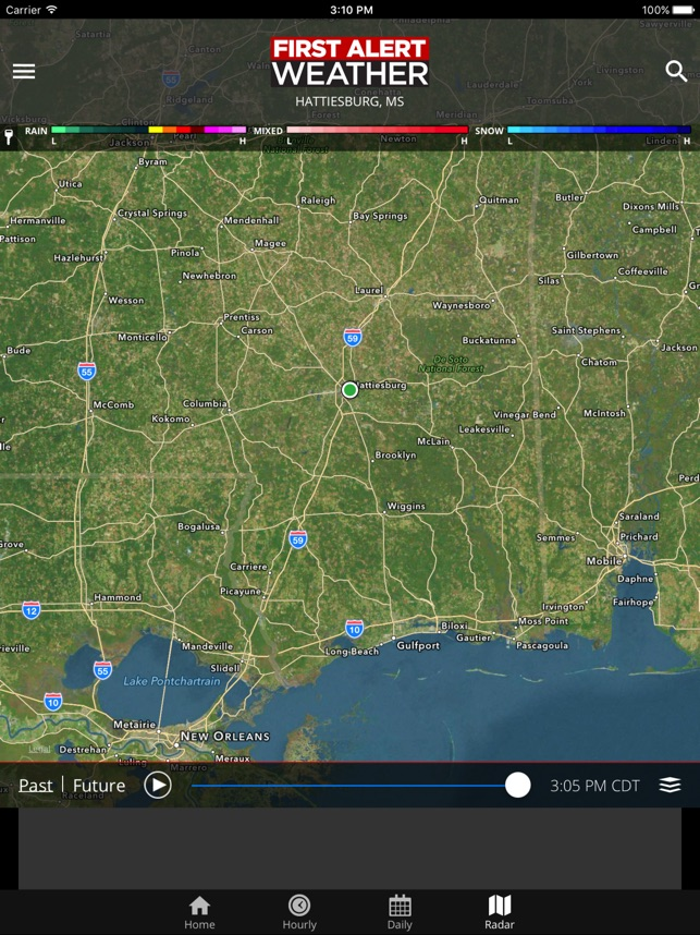 WDAM 7 First Alert Weather on the App Store
