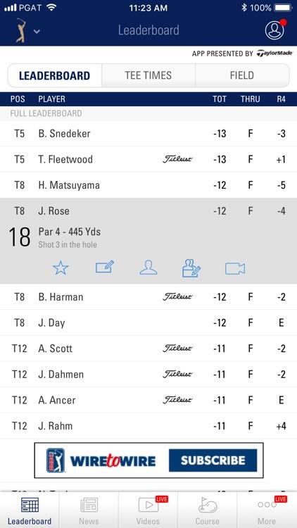 PGA TOUR Mobile screenshot-6