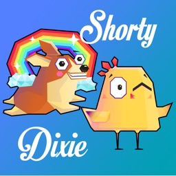 Shorty & Dixie Stickers