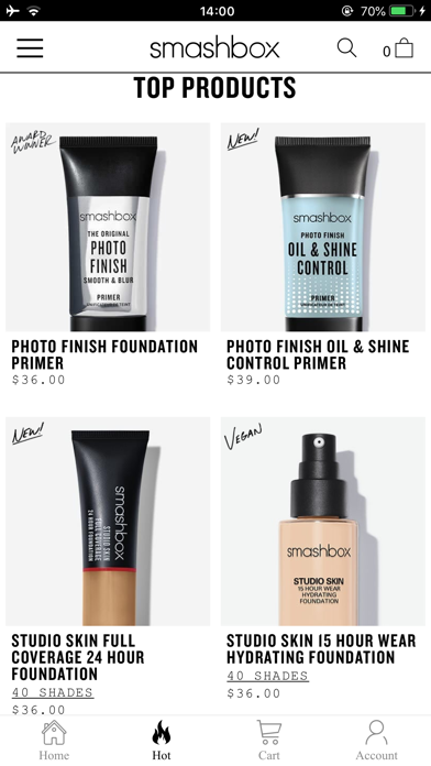 Smashbox Cosmetics screenshot 3