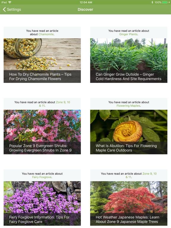 Gardening Companion screenshot