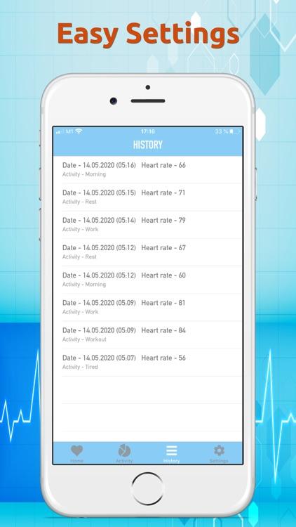 Heart Beat Rate Monitor screenshot-4