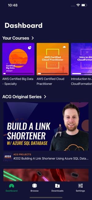 A Cloud Guru on the App Store