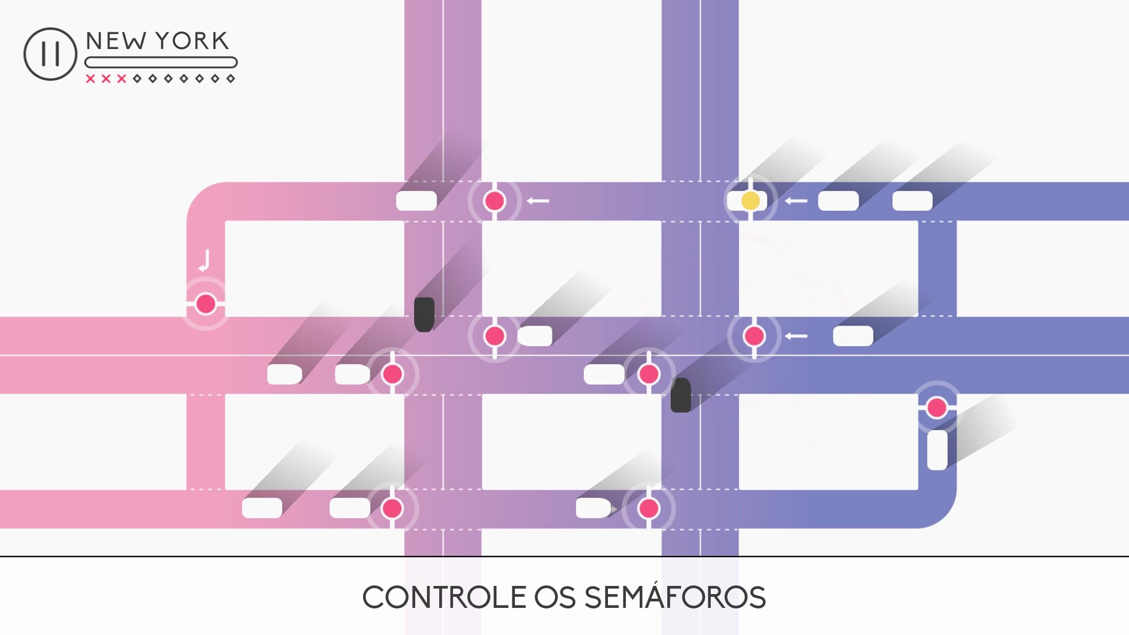 Screenshot do app Traffix: Hora do Rush