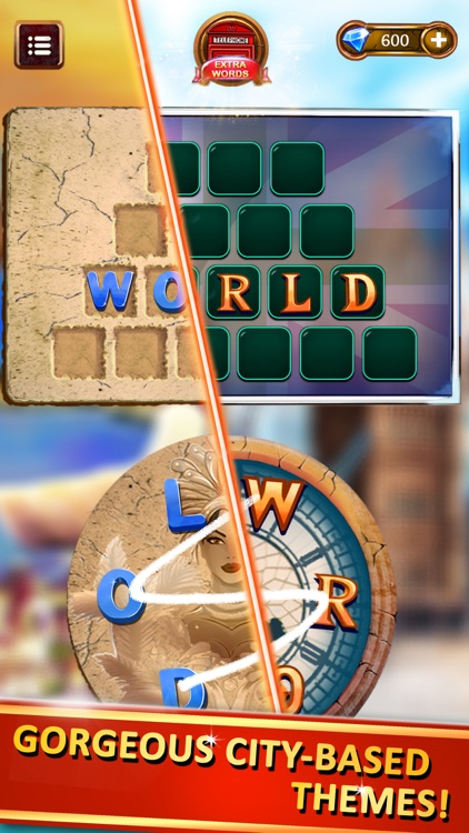 Word Cities, Words Games screenshot-3