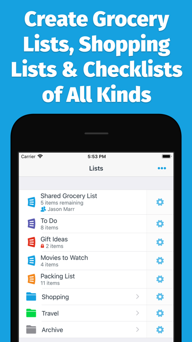 AnyList: Grocery Shopping List screenshot two