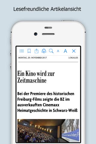 Badische Zeitung - náhled