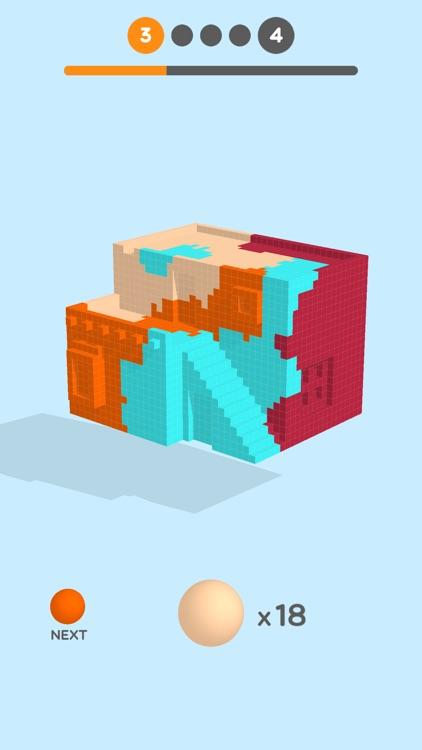 Cube Paint 3D screenshot-4