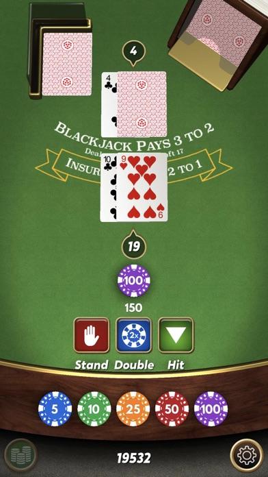 Blackjack 21 ⁂ screenshot 3