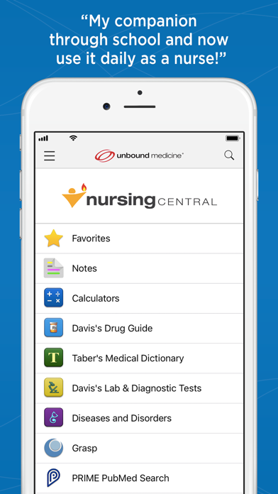 Nursing Central Screenshot