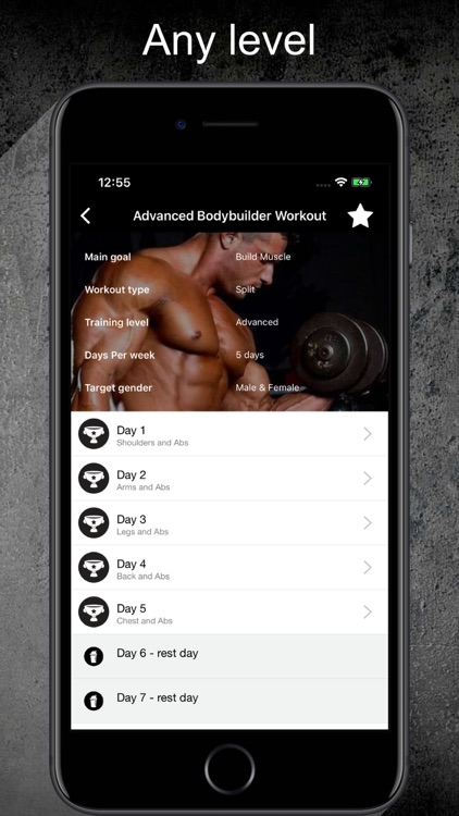 Gym Guide Pro workouts
