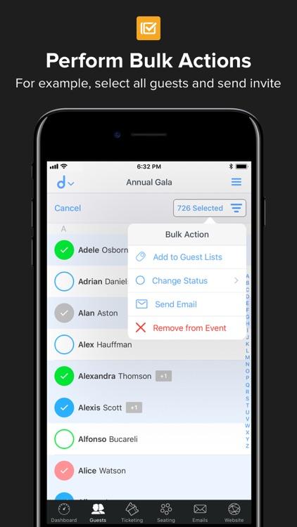 Events & Guest Lists | Diobox screenshot-7