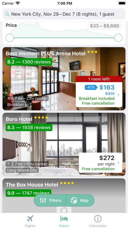 Jet - Cheap Flights & Hotels screenshot-4