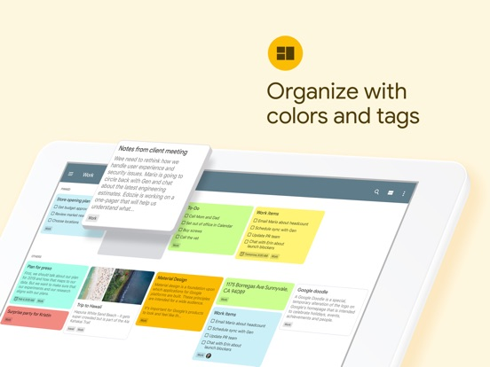 Screenshot #4 for Google Keep - Notes and lists